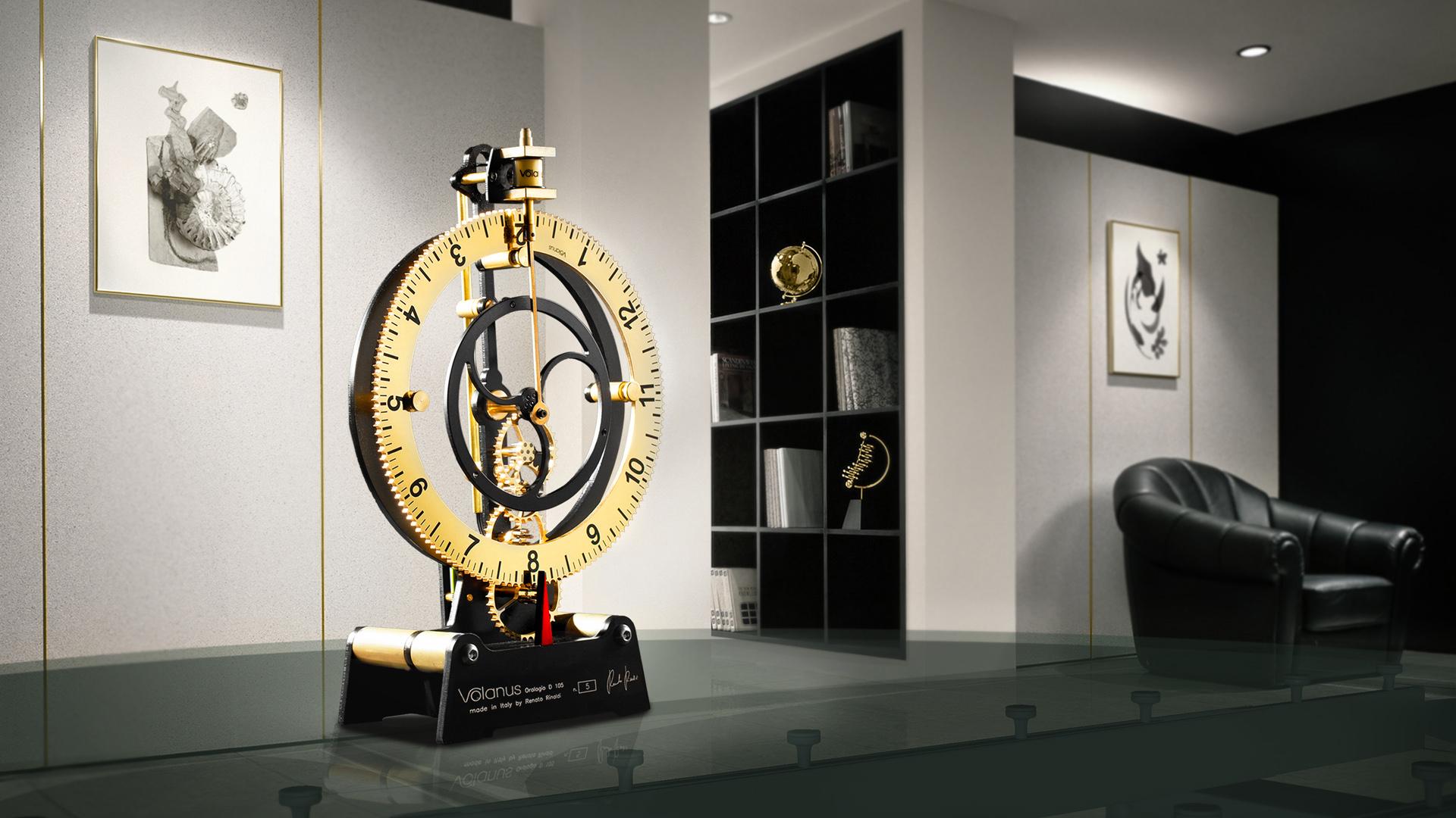 Luxury Table Clock Volanus d105 Luxury Interior