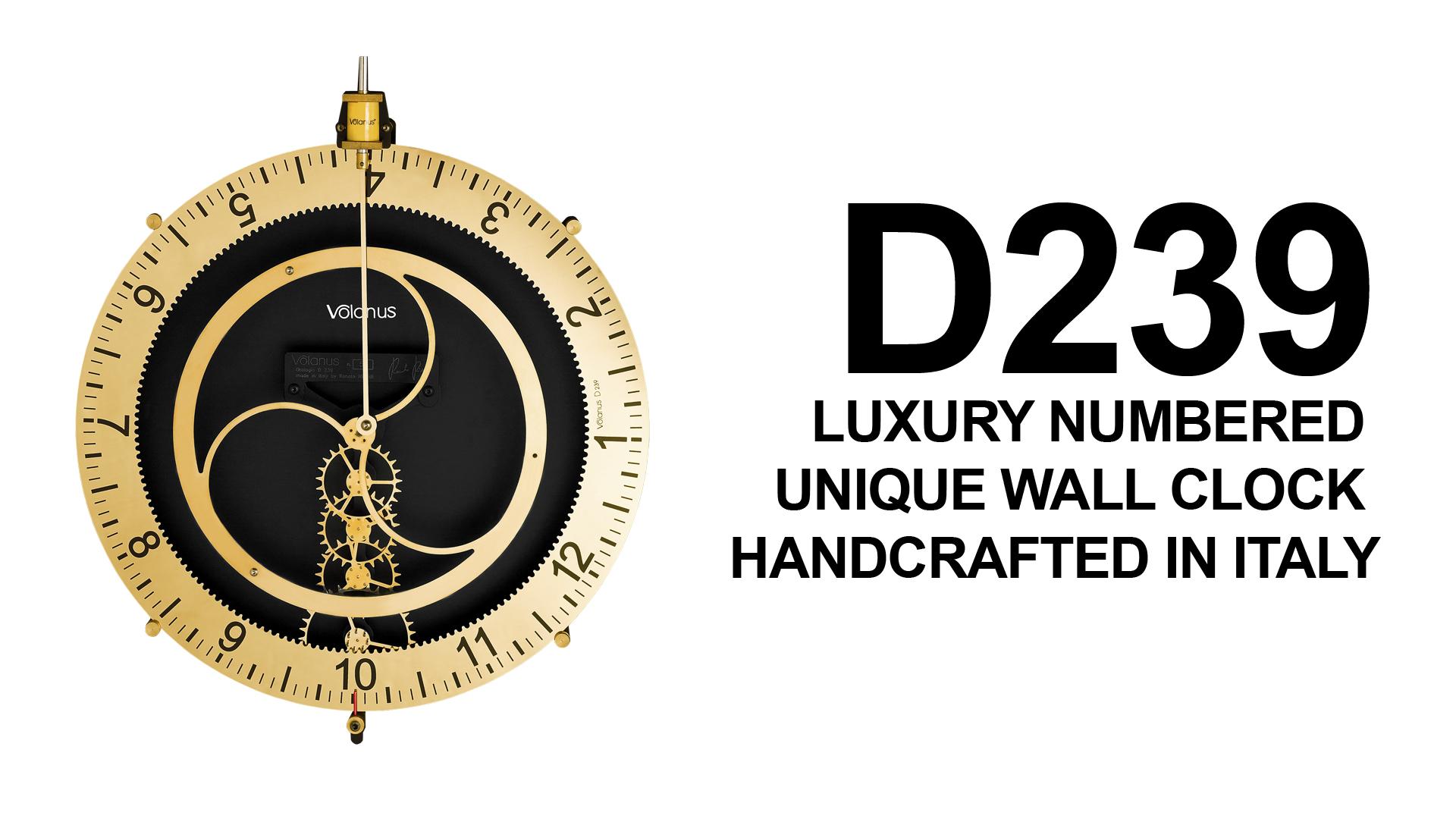 Wall clock Volanus New d239
